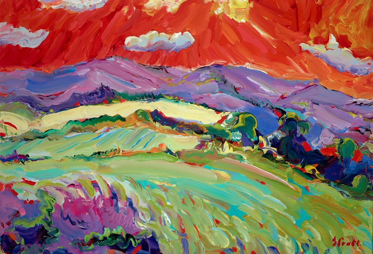Massif Central Near Lavoute Chilhac by jeffrey pratt -  sized 39x27 inches. Available from Whitewall Galleries